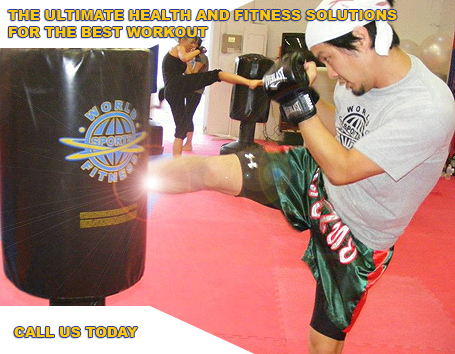 Kickboxing for all ages for fitness