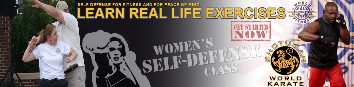 Self Defense at World Sports Fitness